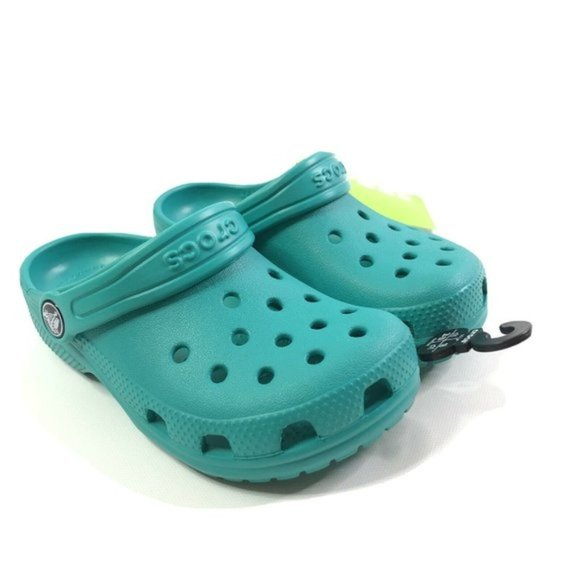 Kids Crocs Classic Clog Tropical Teal